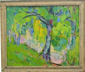 Tablou Rodica Pandele - Peisaj – copac