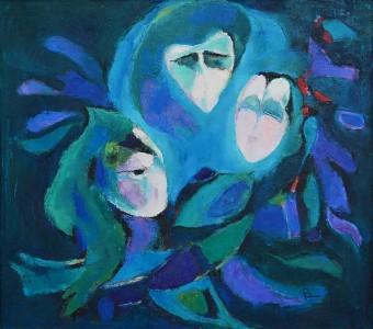 Pandele Rodica-Mihaela, Ursele, u/p, 73 x 65 cm, PR 2186