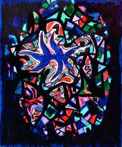 Pandele Rodica-Mihaela, Stea de mare, acrilic/h, 42,8 x 33 cm, GR 2992