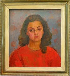Tablou Rodica Pandele - Autoportret