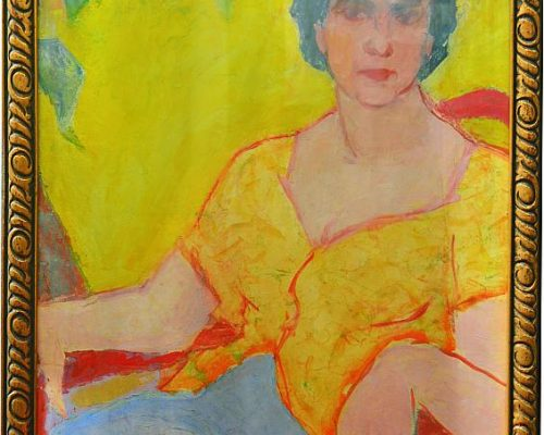 Tablou Rodica Pandele - Portret Maria Pandele - (55 x 74)