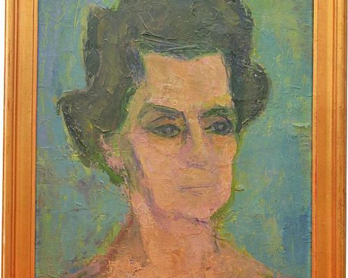 Tablou Rodica Pandele - Teodora Pandele  - ulei pe pfl (38 x 48)