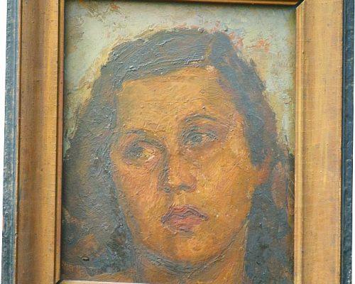 Tablou Rodica Pandele - Portret   - (32 x 36)