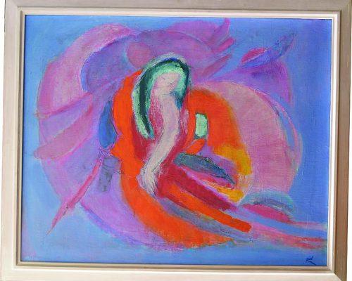 Tablou Rodica Pandele - Vis  - ulei pe pânză (94 x 112)
