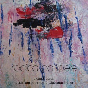 Afiș expoziție Rodica Pandele
