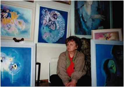 Rodica Pandele între tablouri